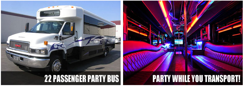Airport Transportation Party bus rentals Cleveland