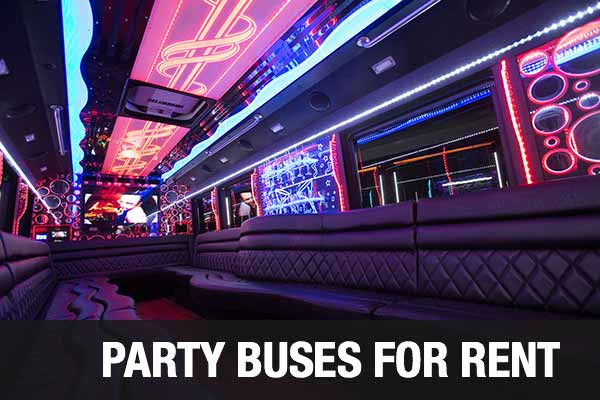 Charter Bus Party Bus Cleveland