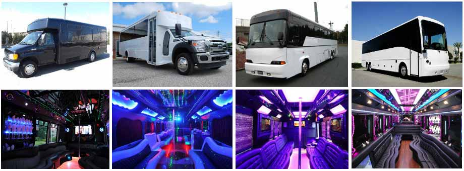 Prom & Homecoming Party buses Cleveland