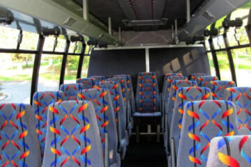 20 Person Mini Bus Rental Mansfield