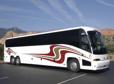 Cleveland 50 Passenger Charter Bus